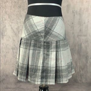 EUC Gap Wool Pleated Mini Skirt